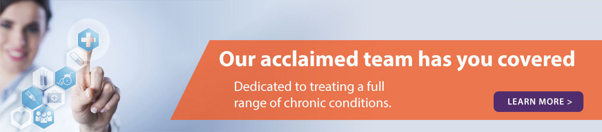 Treating a wide range of chronic conditions