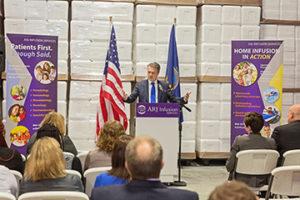 Governor_Coyler_Kansas_Specialty_Pharmacy_Healthcare_Tour