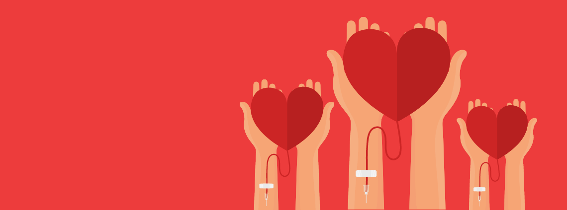 Blood donation ARJ Infusion Services Specialty Pharmacy